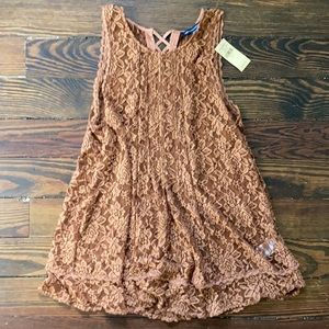 NWT American Eagle Lace Babydoll Top M